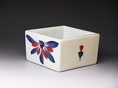 和食器砥部焼の角鉢