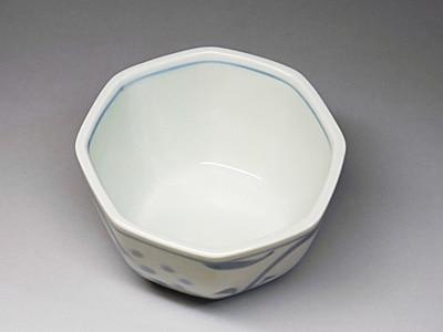砥部焼、梅山窯の角鉢