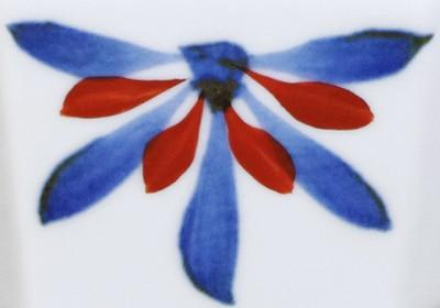 砥部焼き 梅山 ごす赤菊