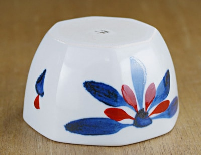 砥部焼き 梅山窯 8角小鉢