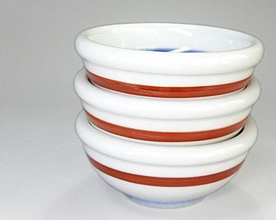 3寸玉縁鉢 重なり