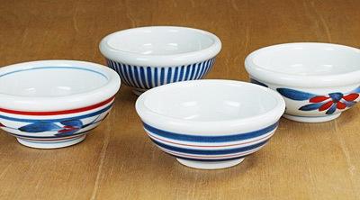 砥部焼 梅山窯 3寸玉縁鉢 小鉢