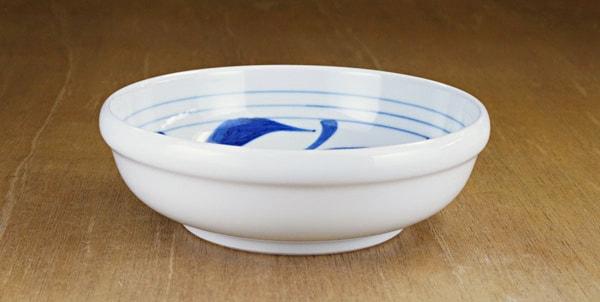 砥部焼き 梅山窯 玉縁鉢