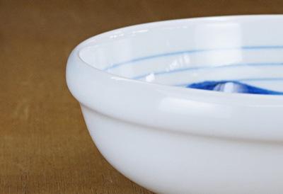 砥部焼 玉縁鉢 半玉縁鉢