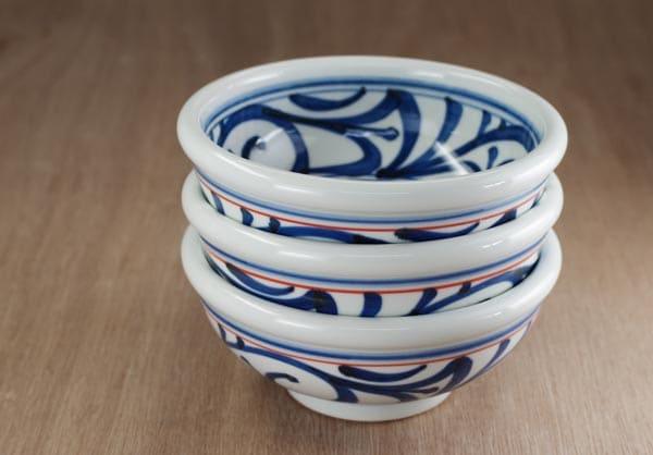 砥部焼 梅山窯 5寸玉縁鉢