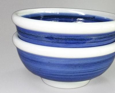 砥部焼 ゴス巻の中鉢
