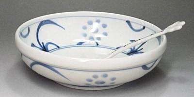 砥部焼 梅山窯 5.3寸玉縁鉢