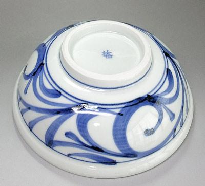 唐草文 6寸玉縁鉢