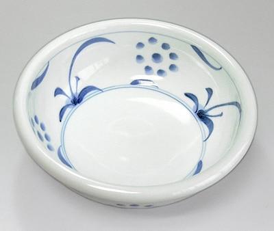 砥部焼 太陽文の鉢