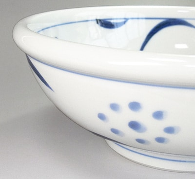 太陽文 玉縁鉢