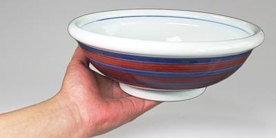 砥部焼 梅山窯の大鉢