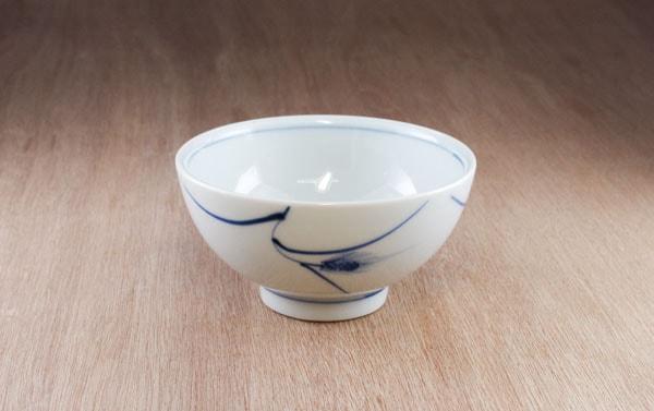 砥部焼 広谷窯 ごはん茶碗