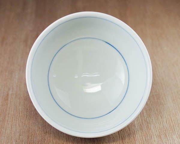 砥部焼き ごはん茶碗 内側