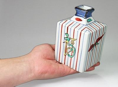 梅山窯さんの角瓶B小
