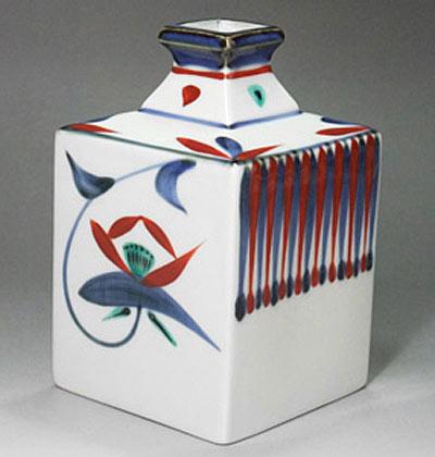 砥部焼の花瓶