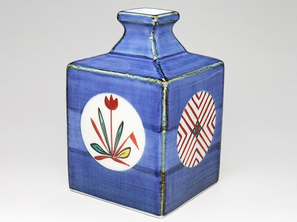 砥部焼 梅山窯 花瓶