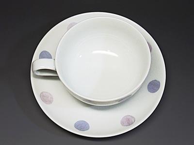 和食器、きよし窯の紅茶カップ