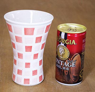 砥部焼き フリーカップ 大きさ比較