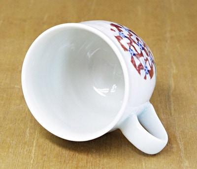 砥部焼 山田ひろみさんのマグカップ