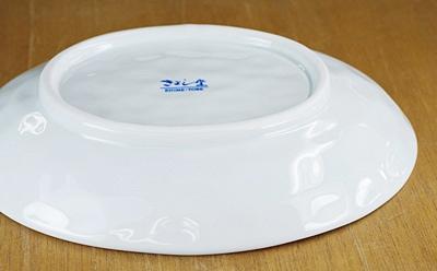 きよし窯 カトレア楕円皿