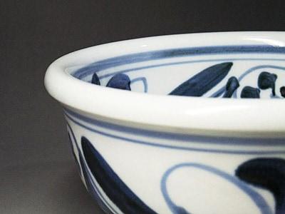 砥部焼のうどん鉢