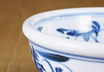 砥部焼 江泉窯 玉縁鉢