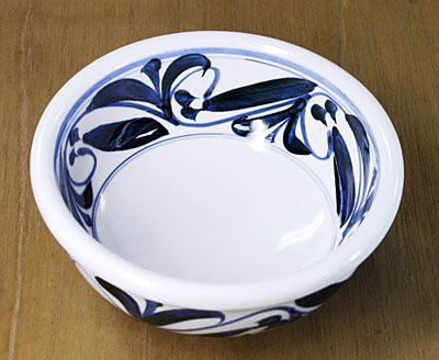 砥部焼き 江泉窯 深鉢