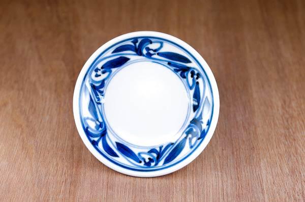 砥部焼 和食器 丸皿