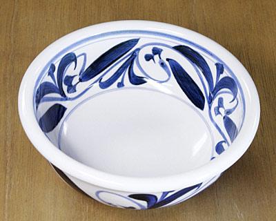 砥部焼き 江泉窯 浅鉢