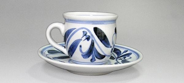 砥部焼 江泉窯 コーヒーカップ