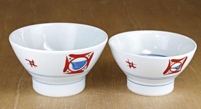 夫婦茶碗 砥部焼