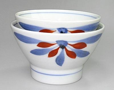 砥部焼 くらわんか茶碗 大きさ比較