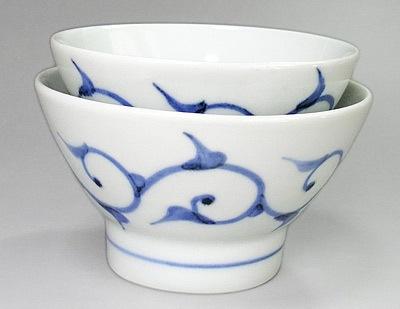 砥部焼 ごはん茶碗 大小