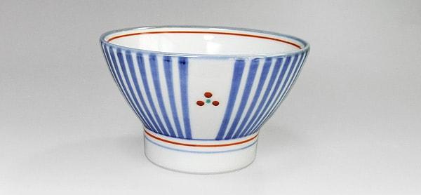 和食器 ごはん茶碗 十草三つ文