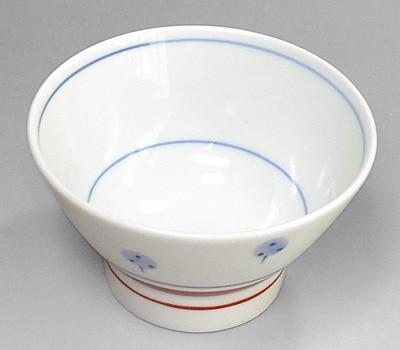 砥部焼 梅山窯 くらわんか茶碗