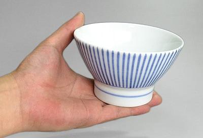 十草文 くらわんか茶碗