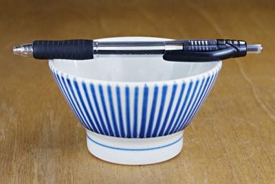 梅山 こども茶碗 大きさ比較
