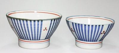 砥部焼の夫婦茶碗
