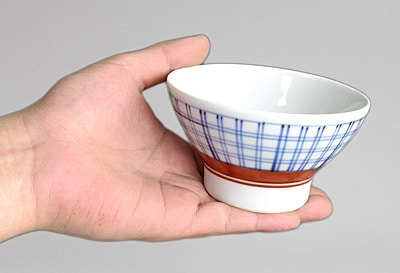 飯茶碗 持ったところ