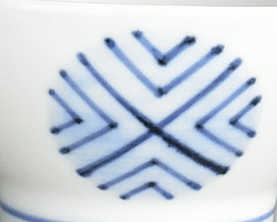 砥部焼き 梅山窯 ごす丸文
