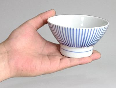 お茶碗 持ったところ