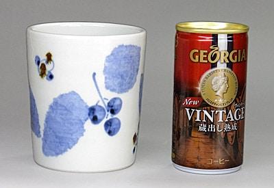 砥部焼 フリーカップ 大きさ比較