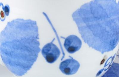 森陶房 ブルー木の葉