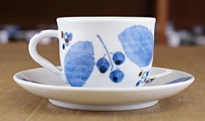 砥部焼き 森陶房 コーヒーカップ