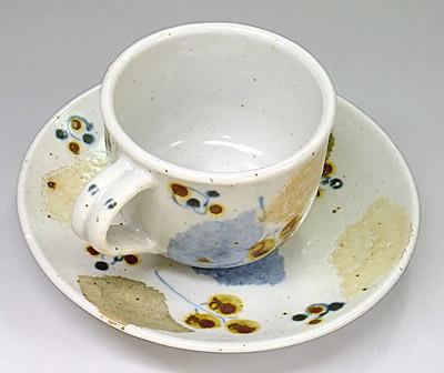 森陶房 木の葉 コーヒーカップ