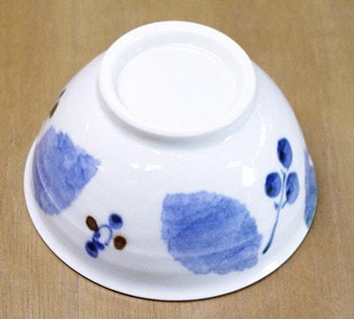 飯茶碗 木の葉