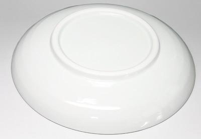 森陶房、木の葉文の丸皿