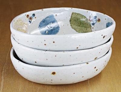 楕円鉢 重なり
