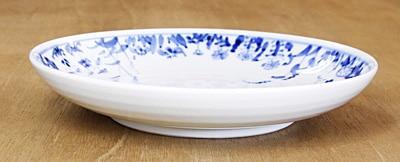 砥部焼き 丸皿