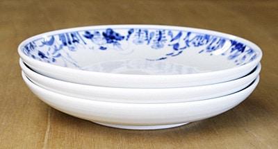 和食器 丸皿 重なり